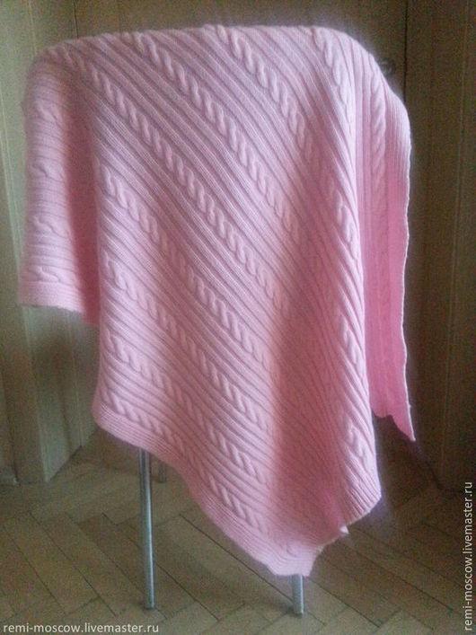 """Пледы и одеяла ручной работы. Ярмарка Мастеров - ручная работа. Купить Детское вязаное одеяло """"Розовое облако"""". Для детей. Для девочки.. Handmade."""