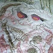 """Картины и панно ручной работы. Ярмарка Мастеров - ручная работа Панно """"Утро морозное"""". Handmade."""