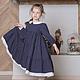 Одежда для девочек, ручной работы. Заказать платье для девочки Горошек. млета (mleta1). Ярмарка Мастеров. Платье для девочки, воланы