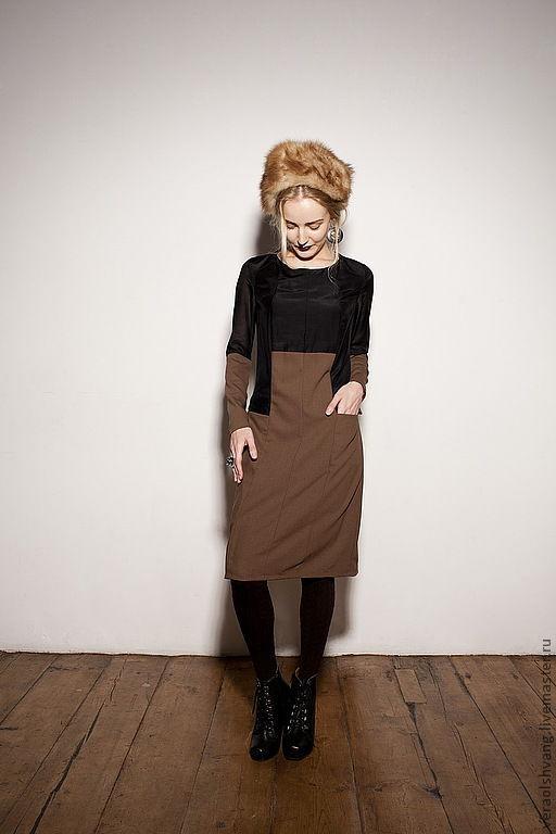 Платья ручной работы. Ярмарка Мастеров - ручная работа. Купить Платье как юбка с блузкой. Handmade. Однотонный, блузка с юбкой