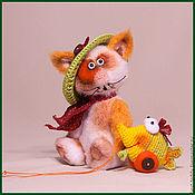 Куклы и игрушки ручной работы. Ярмарка Мастеров - ручная работа Мурзик. Handmade.