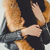 Аксессуары handmade. Livemaster - original item Fox fur collar scarf. Handmade.