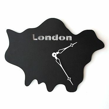 Для дома и интерьера. Ярмарка Мастеров - ручная работа Часы: Настенные часы London. Handmade.