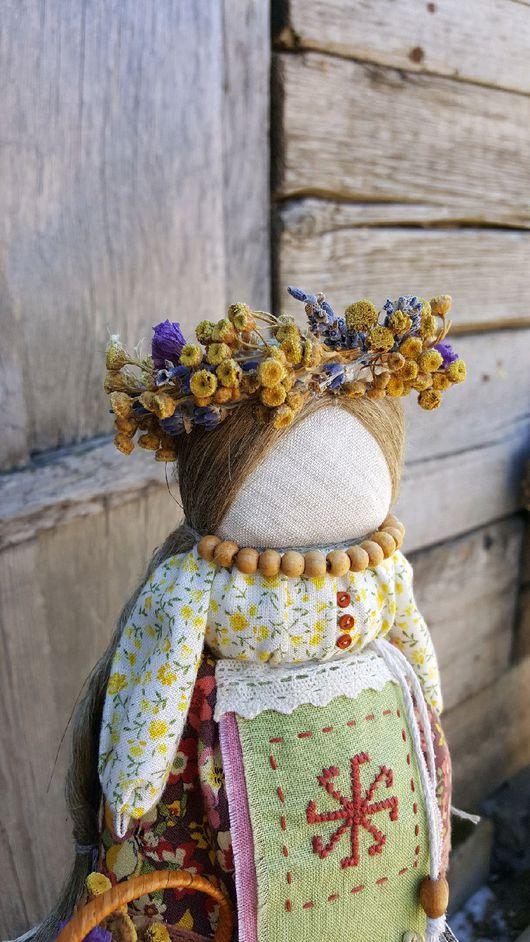 Куклы обереги с травами