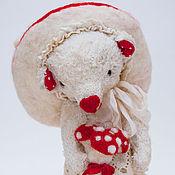 Куклы и игрушки ручной работы. Ярмарка Мастеров - ручная работа Мухоморка. Handmade.