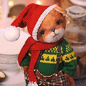 Мишки Тедди ручной работы. Ярмарка Мастеров - ручная работа Тедди лис. Лисенок тедди. (Teddy fox). Handmade.