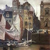 Картины и панно handmade. Livemaster - original item Picture: Old Le Havre.. Handmade.