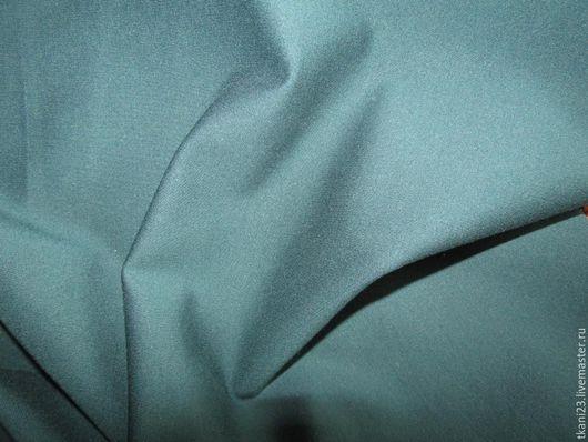 Шитье ручной работы. Ярмарка Мастеров - ручная работа. Купить Плотный трикотаж-нейлон арт.43 ТЗ-1 (Корея)изумрудная зелень. Handmade.