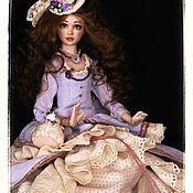 """Куклы и игрушки ручной работы. Ярмарка Мастеров - ручная работа Эвилин """"Старинные открытки"""". Handmade."""