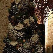 Подарки к праздникам ручной работы. Ярмарка Мастеров - ручная работа Елка настольная интерьеная. Handmade.