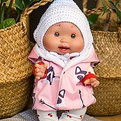 Одежда для кукол ручной работы. Ярмарка Мастеров - ручная работа Жилетка на пупсов 26-34 см. Handmade.