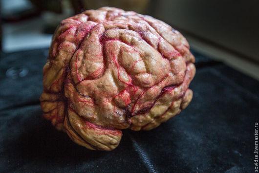 Готика ручной работы. Ярмарка Мастеров - ручная работа. Купить Мозг. Handmade. Кремовый, хеллоуин, ролевые игры, аксессуары, латекс