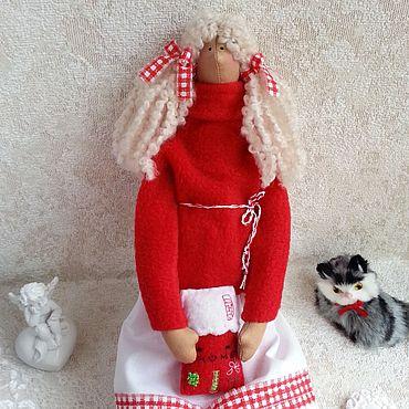 Куклы и игрушки ручной работы. Ярмарка Мастеров - ручная работа Тильда - ангел домашнего уюта. Handmade.