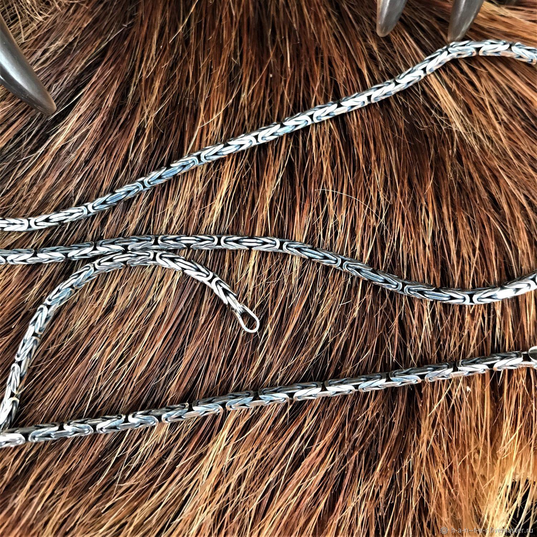 Chain 'Fox tail' 2,6 mm, Chain, Kostroma,  Фото №1
