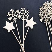 Материалы для творчества ручной работы. Ярмарка Мастеров - ручная работа Волшебные палочки из дерева. Handmade.