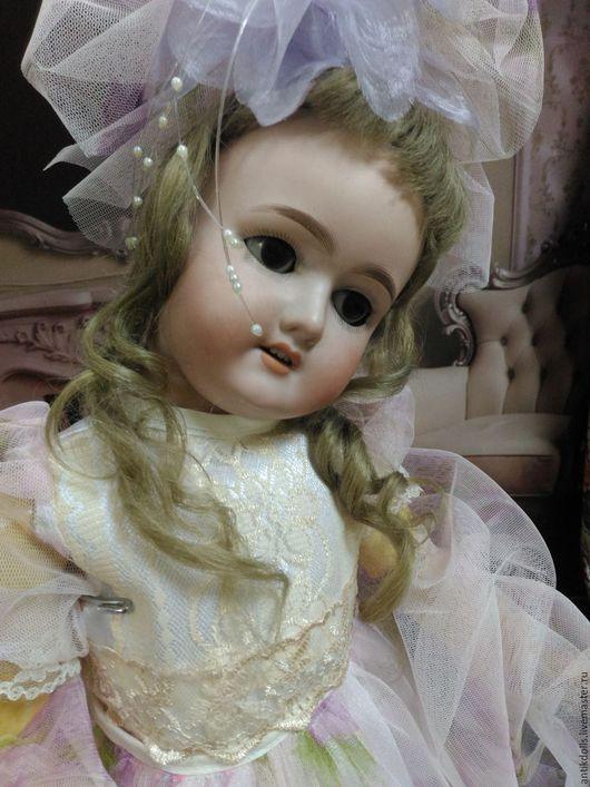 Одежда для кукол ручной работы. Ярмарка Мастеров - ручная работа. Купить Платье с вуалью для бала!. Handmade. Розовый, атлас