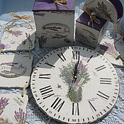 Для дома и интерьера handmade. Livemaster - original item Set for kitchen Provence Lavanda 7 items. Handmade.