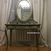 Для дома и интерьера ручной работы. Ярмарка Мастеров - ручная работа Туалетный столик в резном декоре. Handmade.