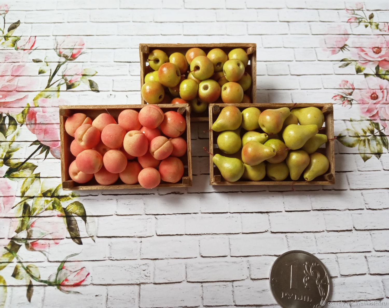 Ящик с фруктами, Кукольная еда, Ялта,  Фото №1