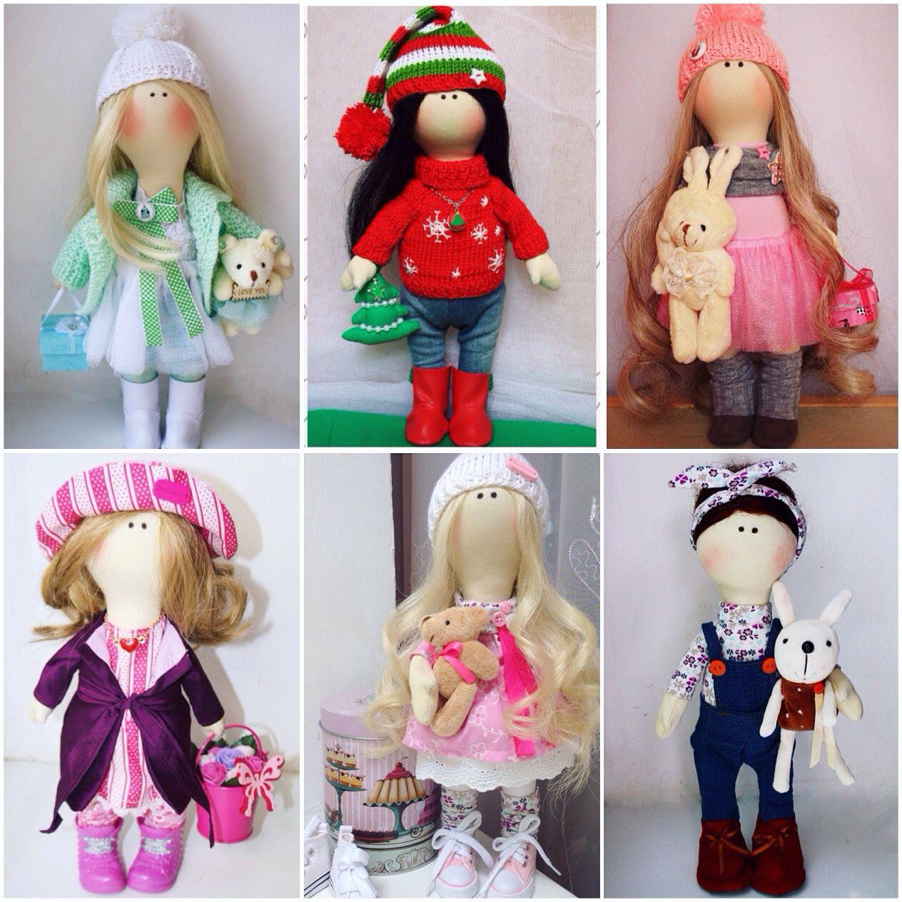 Интерьерными куклами тильда