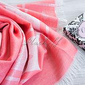 Аксессуары handmade. Livemaster - original item Luxury coral thin women`s stole fabric Gucci
