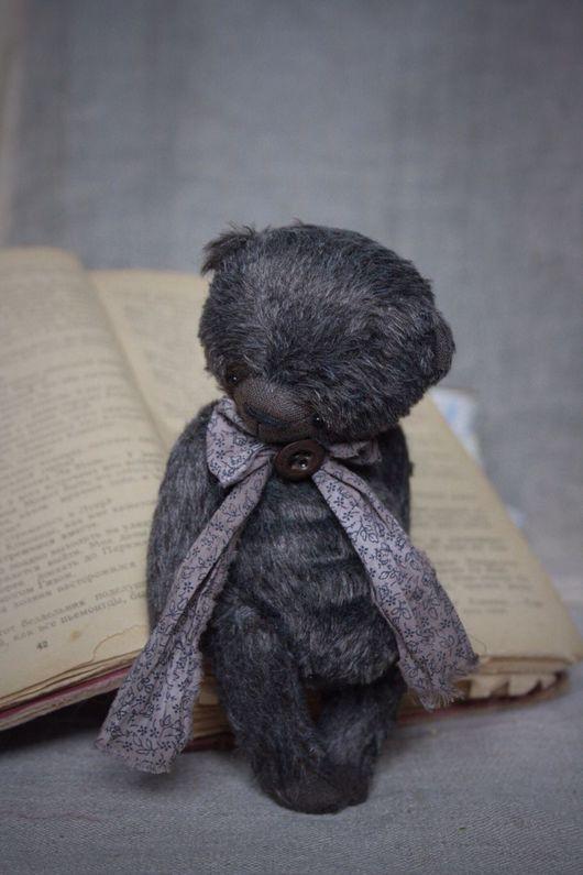 Мишки Тедди ручной работы. Ярмарка Мастеров - ручная работа. Купить Грей.... Handmade. Серый, купить мишку Тедди