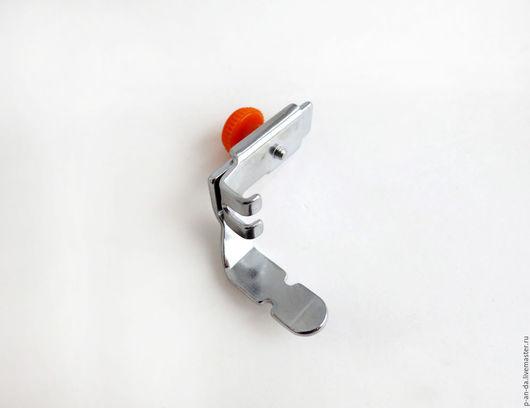 Шитье ручной работы. Ярмарка Мастеров - ручная работа. Купить Лапка регулируемая для вшивания молнии и шнуров двусторонняя. Handmade. Лапка