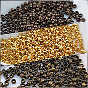 Материалы для творчества handmade. Livemaster - original item 100 PCs. Crimp beads crimp 2 mm (693 mm). Handmade.