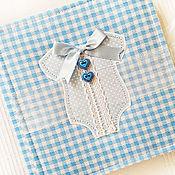 Фотоальбомы ручной работы. Ярмарка Мастеров - ручная работа Фотоальбом для малыша. Handmade.