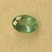 Материалы для творчества handmade. Livemaster - original item Natural emerald 6 x 4 mm. Handmade.