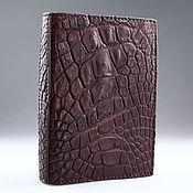 Канцелярские товары handmade. Livemaster - original item Crocodile passport cover IMA0021VK55. Handmade.