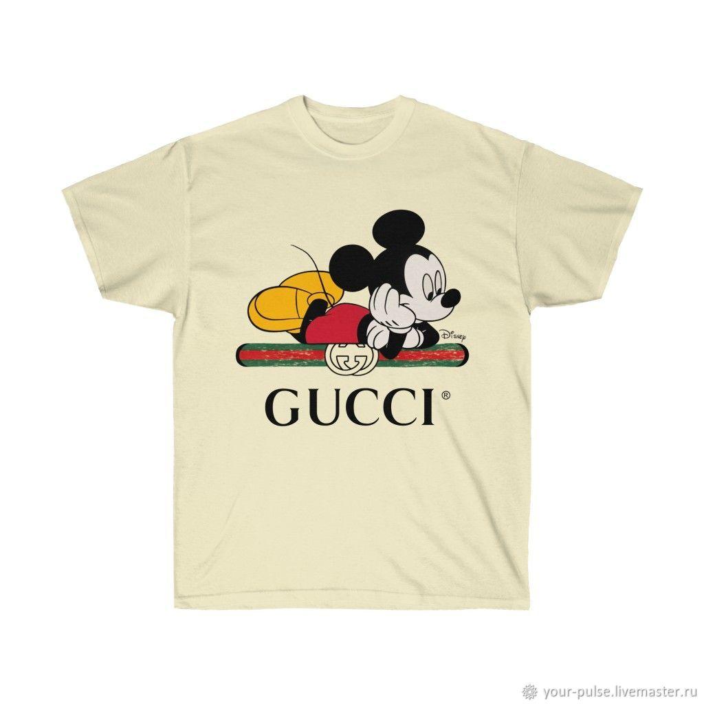 Футболка Gucci and Disney Гуччи Дисней лимитированная коллекция 2020, Футболки, Таганрог,  Фото №1