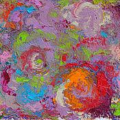 """Картины и панно ручной работы. Ярмарка Мастеров - ручная работа Картина маслом """"Поверить в сказку"""". Handmade."""