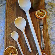 Посуда ручной работы. Ярмарка Мастеров - ручная работа Ложки. Handmade.