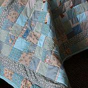 Для дома и интерьера ручной работы. Ярмарка Мастеров - ручная работа лоскутное одеяло для малыша. Handmade.