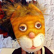 """Куклы и игрушки ручной работы. Ярмарка Мастеров - ручная работа Кошка """"Мандариновое солнце"""". Handmade."""
