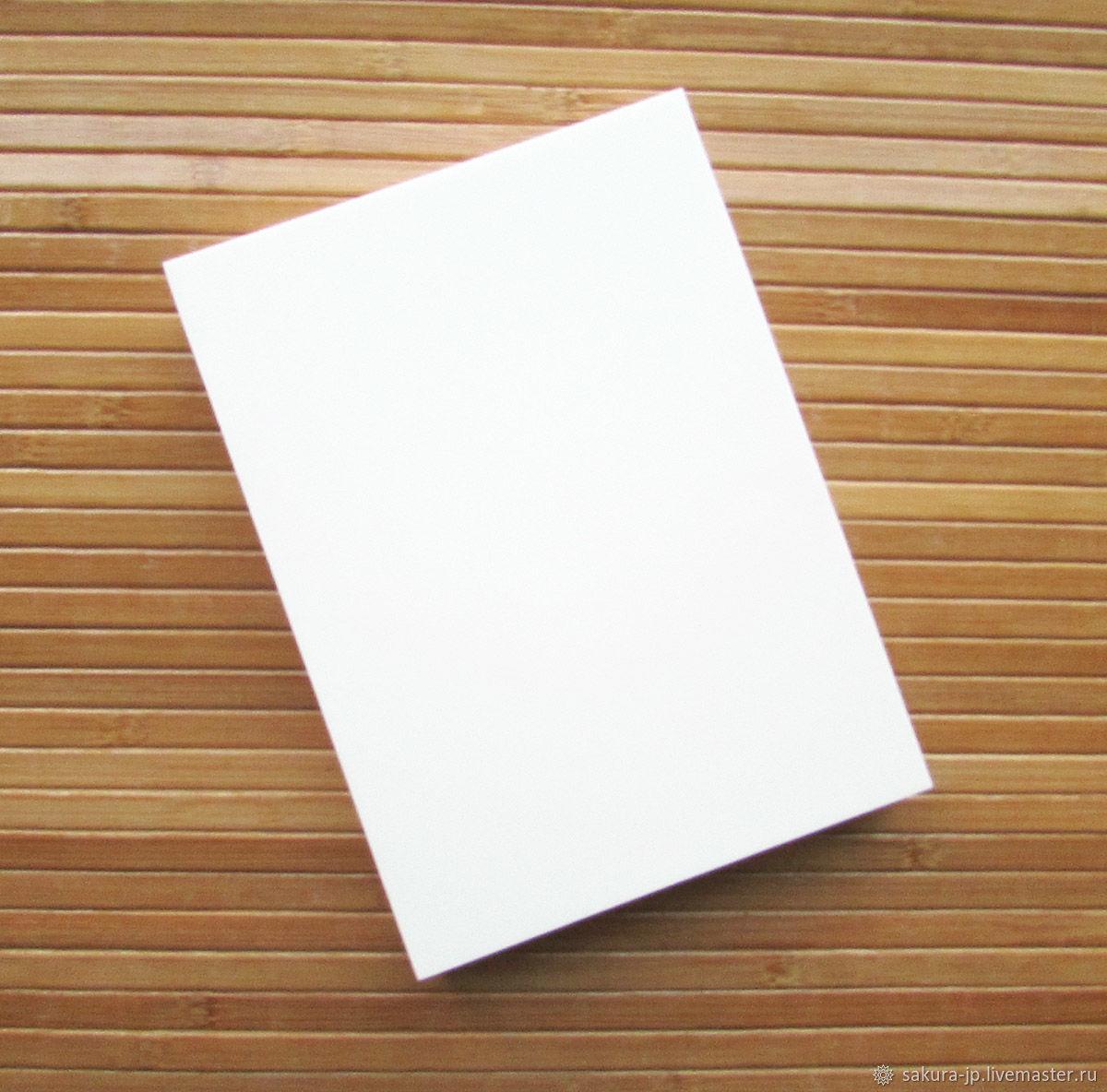 Жесткий коврик (подушечка) для цветоделия, белый большой 19х14х2 см, Инструменты для флористики, Хмельницкий,  Фото №1