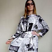 """Одежда ручной работы. Ярмарка Мастеров - ручная работа Платье -рубашка """"Таймс"""". Handmade."""