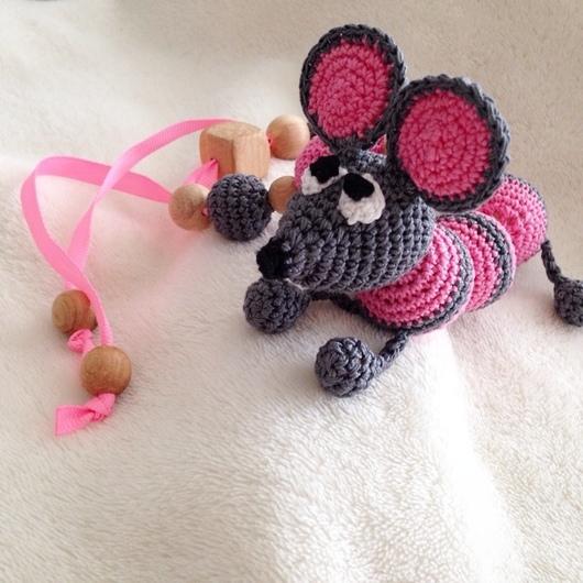 """Детская бижутерия ручной работы. Ярмарка Мастеров - ручная работа. Купить Слингобраслет """"Мышка Ася"""". Handmade. Разноцветный, слинго браслет"""