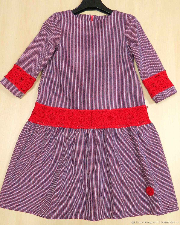Одежда для девочек, ручной работы. Ярмарка Мастеров - ручная работа. Купить Платье детское. Handmade. Платье, вязание, детская одежда
