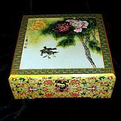 Для дома и интерьера handmade. Livemaster - original item Box bunk Peonies -5. Handmade.