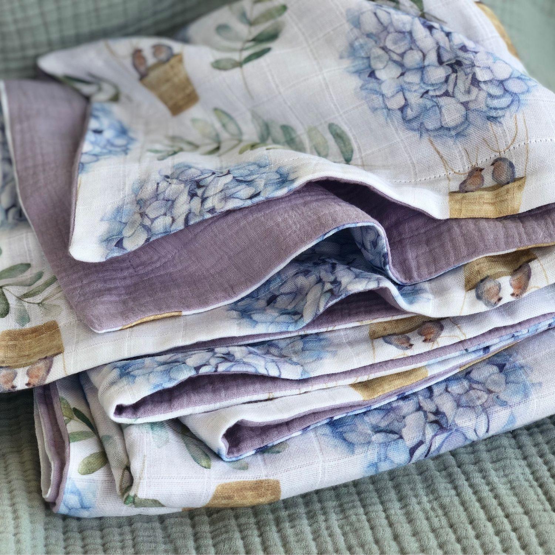 Муслиновое одеяло 120*130, Одеяла, Москва,  Фото №1