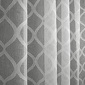 Для дома и интерьера handmade. Livemaster - original item Linen tulle in a contemporary design!. Handmade.