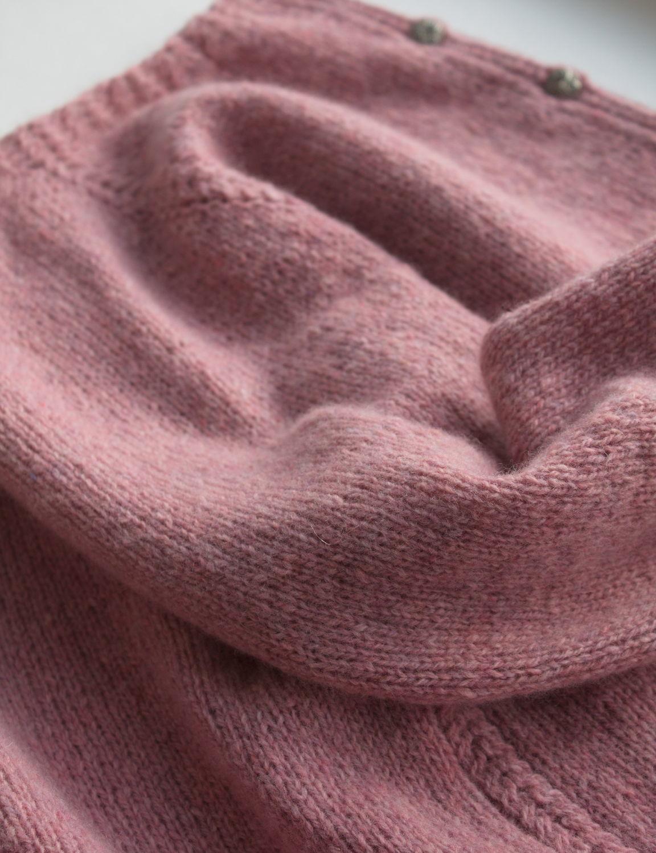 Pink cashmere jacket 'Sakura' delicate yarn, Cardigans, Saratov,  Фото №1