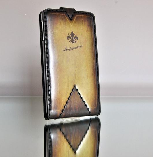 Для телефонов ручной работы. Ярмарка Мастеров - ручная работа. Купить Чехол для Samsung Galaxy Note 3 из Кожи Ручной работы №91. Handmade.
