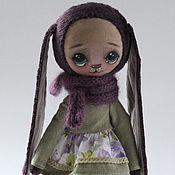 Куклы и игрушки ручной работы. Ярмарка Мастеров - ручная работа Зайка игрушка.. Handmade.