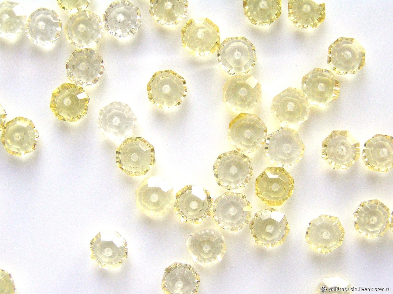 Citrine beads roundels cut, Beads1, Tyumen,  Фото №1
