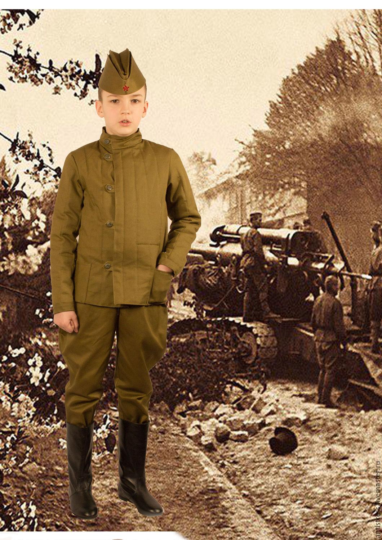 Военная форма.Телогрейка (фуфайка, куртка, ватник) стёганая, Одежда для мальчиков, Щелково, Фото №1