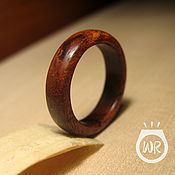 Украшения handmade. Livemaster - original item Ring made of bubingo wood. Handmade.