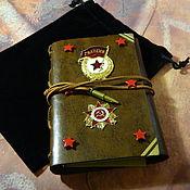 Канцелярские товары handmade. Livemaster - original item Notepad in the Soviet style